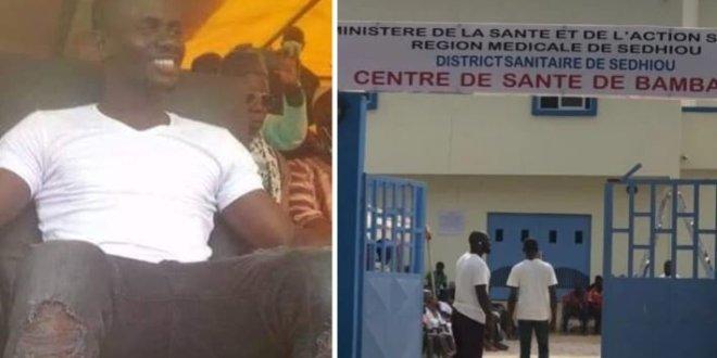 Hôpital de Bambali: Sadio Mané