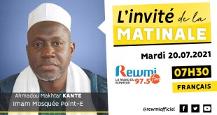 Invité de la Matinale Ahmadou Makhtar Kanté