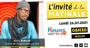 Invité de la Matinale Abou Diallo Cos M23