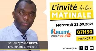 Invité De La Matinale Dr Souleymane Keita