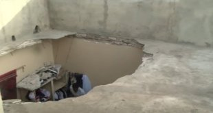 Malika : La dalle d'une maison s'est effondrée