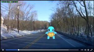 Pokemon Go Dashcam