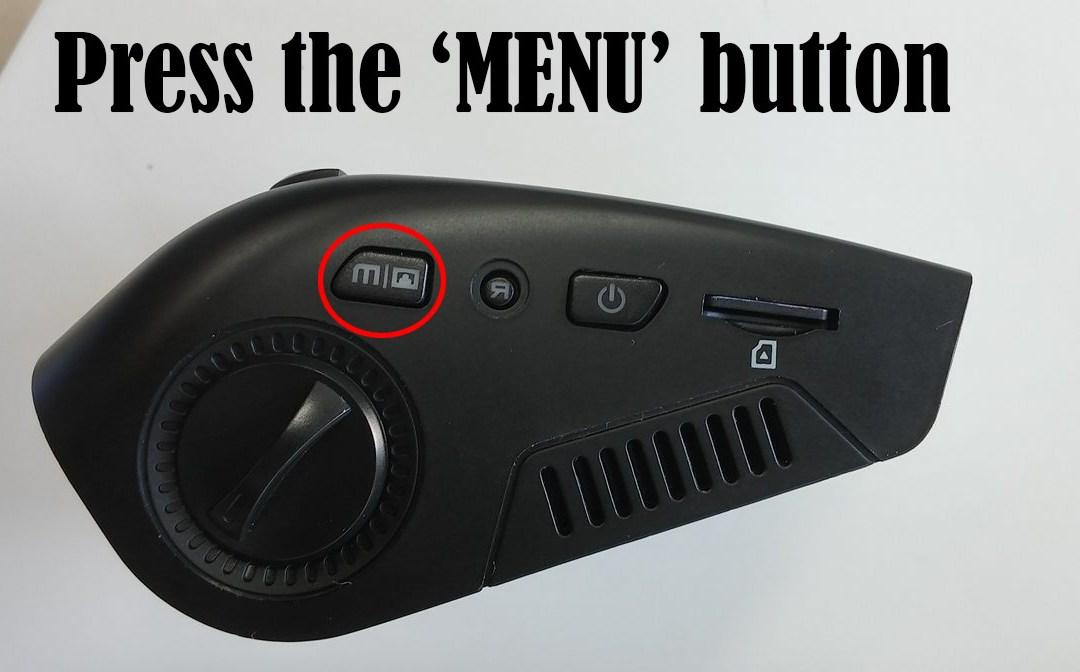 Dashcam Controls