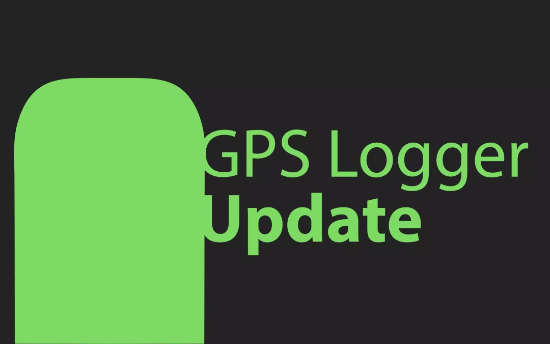 GPS Logger Update
