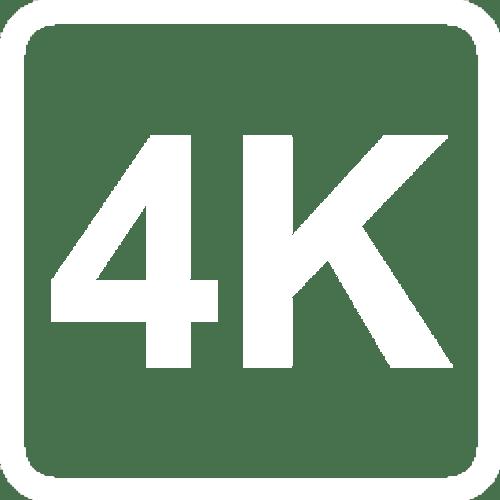 4K WHITE icon