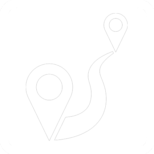 gps white icon
