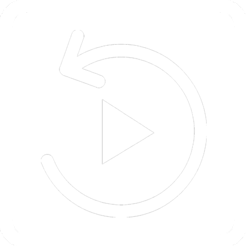 loop white icon