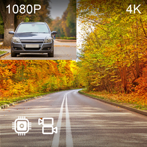 4K 1080p Dual Channel Recording
