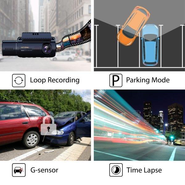 V3 LoopRecordingParkingModeG sensorTimeLapse