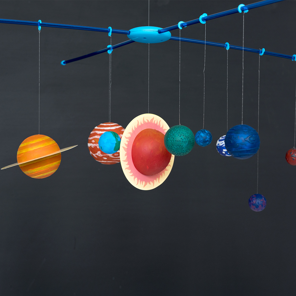 Make Your Own Hanging Solar System