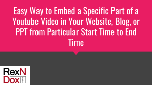 how to easily embed part of a youtube video in your website or, Powerpoint templates