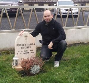 Webmaster at Bobby's gravein fall 2013