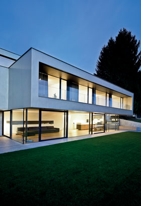 Aluminium Panoramic Windows Reynaers At Home