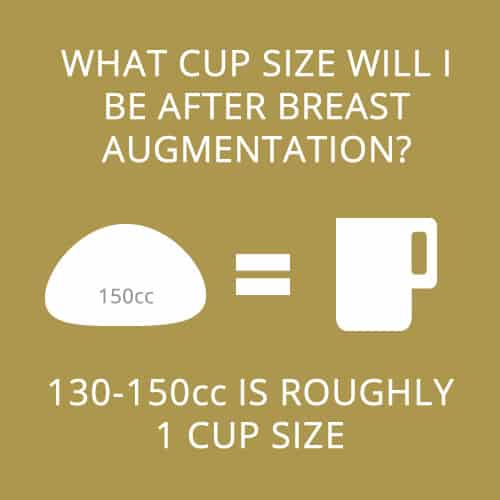 breast augmentation cup size