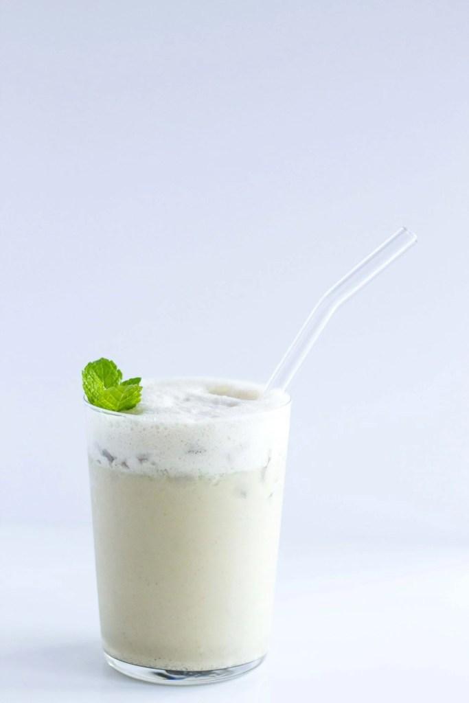 Cold Brew Minty Coconut Latte