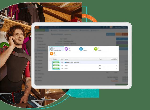 Resell Activities Screen