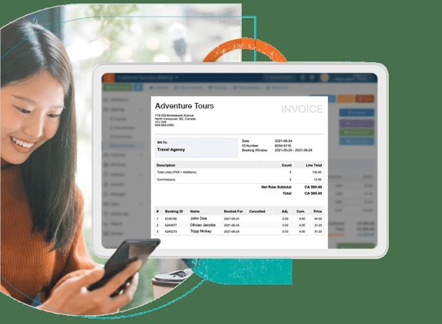 Invoice Management Screen