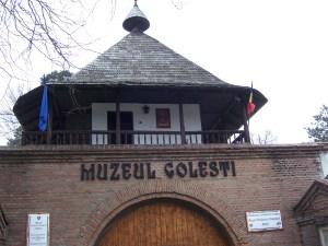 145 Visiting the Golesti museum
