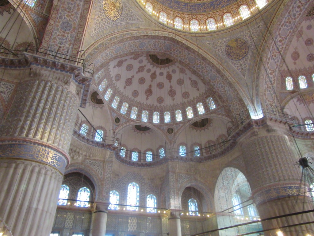 12. Inside the Sultan Ahmed Mosque