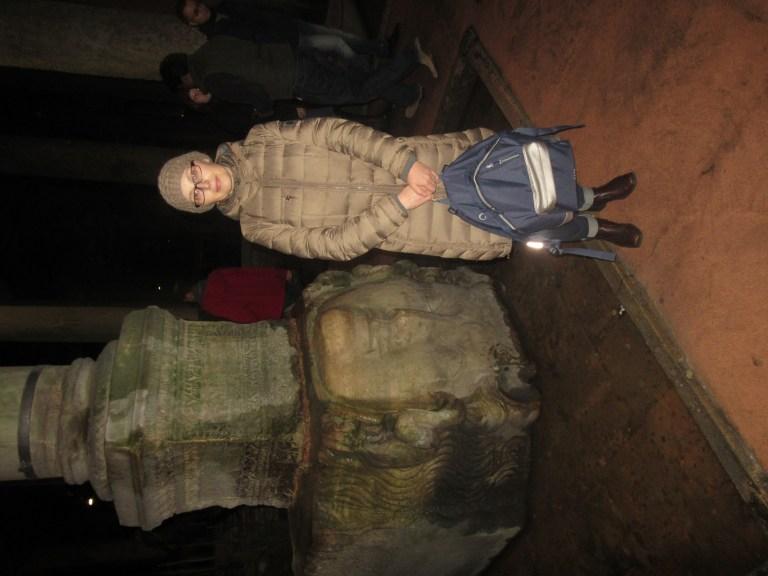 20. Inside the Basilica Cistern