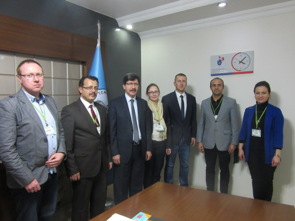 Visiting the head of Afyonkarahisar Educational department