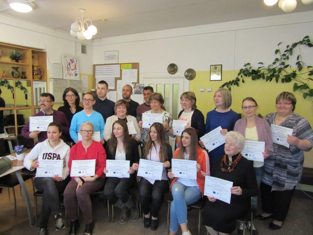 67. Presenting certificates