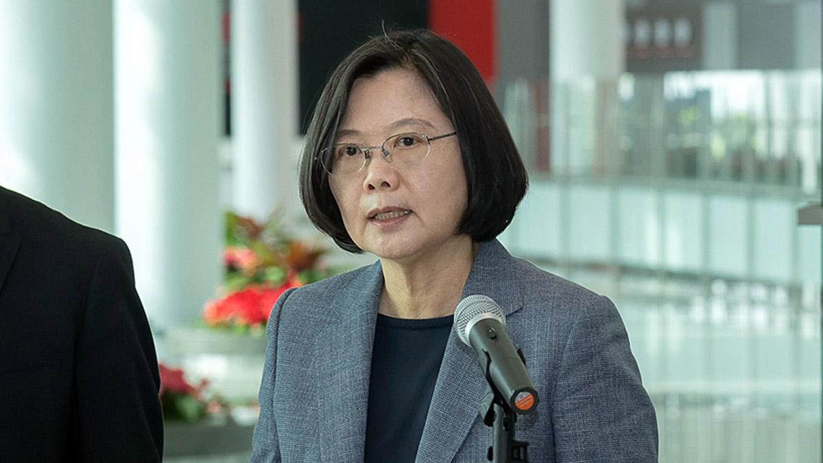 蔡英文促中港政府尊重選舉結果 籲港人繼續向民主道路前進