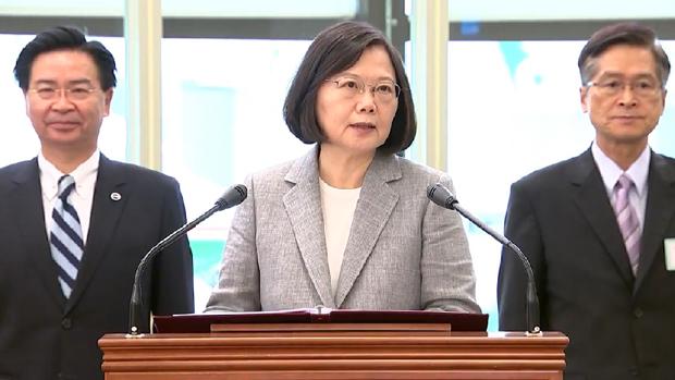 蔡英文外訪過境美國地方 中國外交部提嚴正交涉