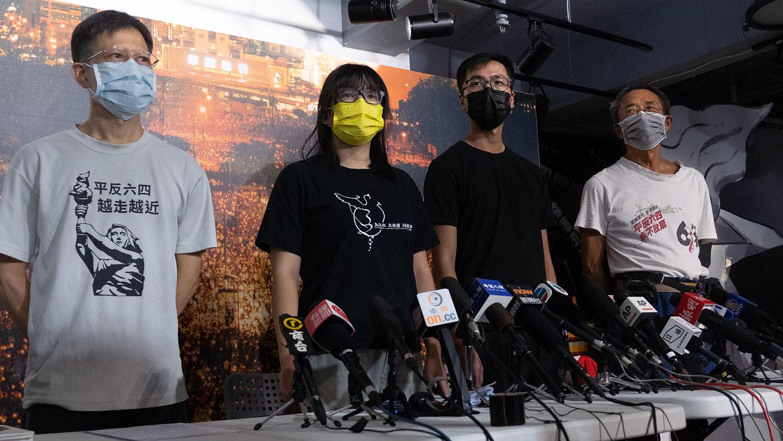 港警拘捕支联会四名骨干成员   邹幸彤被捕前夜仍在协助狱中抗争者