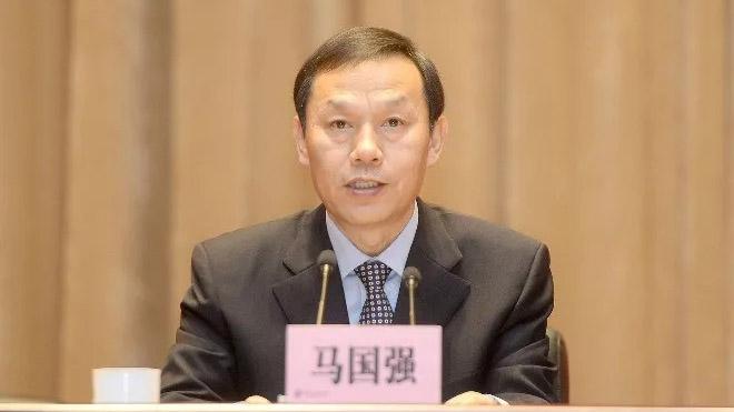前武汉市委书记马国强。(Public Domain)