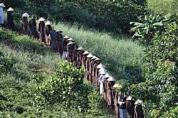 Tăng sinh rời Bát Nhã hồi năm 2009. Photo courtesy of langmai.org