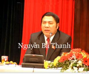Ông Nguyễn Bá Thanh vừa tái đắc cử chức vụ Bí thư Thành ủy Đà Nẵng