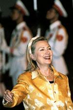 Ngoại trưởng Mỹ Hillary Clinton đến Việt Nam