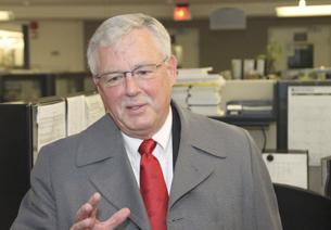 Giáo sư Carl Thayer trong một lần thăm RFA. RFA
