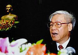 Tổng bí thư Nguyễn Phú Trọng. AFP