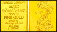 Vàng SJC 24k. còn gọi là vàng 3 số 9. (999)