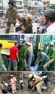 Một vài lối hành xử của công an nhân dân.RFA file