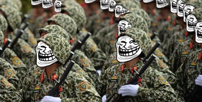 Cuộc chiến trên mạng giữa lực lượng chuyên trách và dư luận viên với giới hoạt động — Tiếng Việt