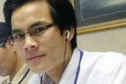 Anh Paulus Lê Sơn bị bắt trên đường Bùi Xương Trạch của thành phố Hà Nội.
