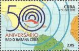 Cuba Radio Postage Stamp - RF Cafe