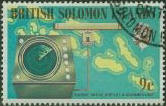 Sea radar on Solomon Islands postage stamp