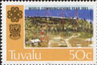 Tuvalu Radio Postage Stamp - RF Cafe