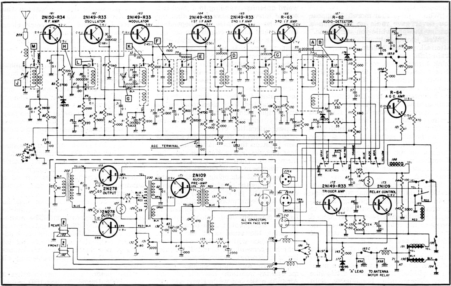 Transistor Radio Circuit Diagram