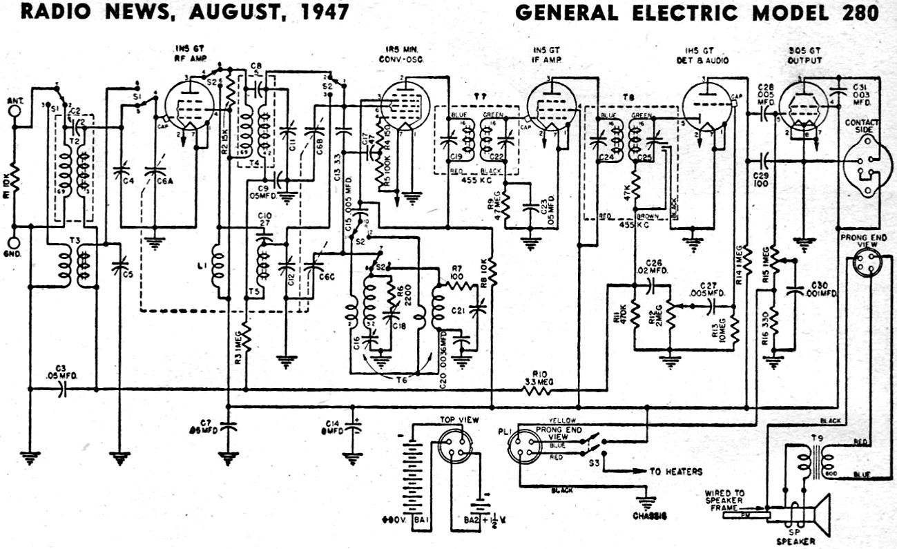 Zenith Radio Digital Clock Schematic