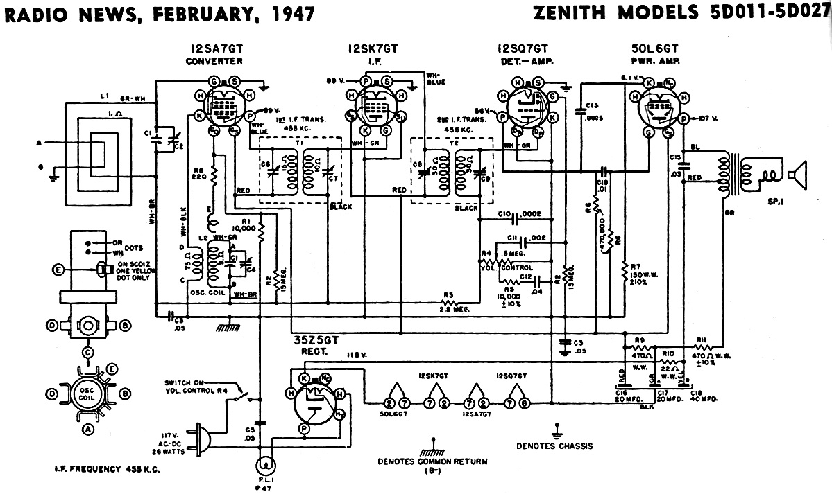Elevator Circuit Diagram