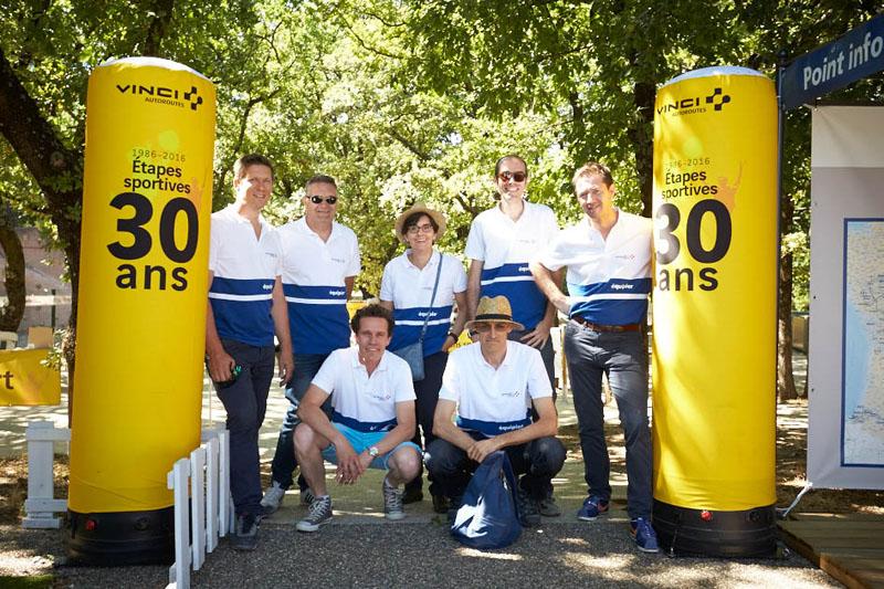 La RFE met en place une opération de Trip Marketing pour les usagers des autoroutes Vinci en organisant des étapes sportives sur les aires de repos