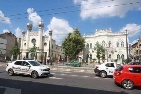 Poliția din Cluj investighează profanarea sinagogii