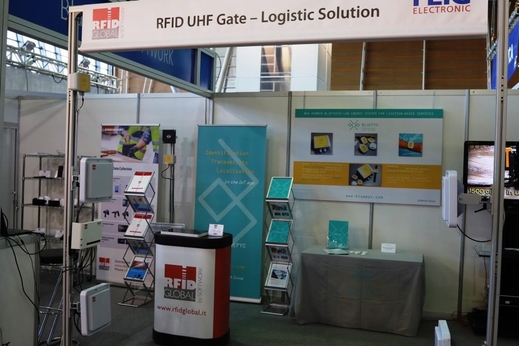 A&T 2020 - RFID Logistic Gate & BluEpyc