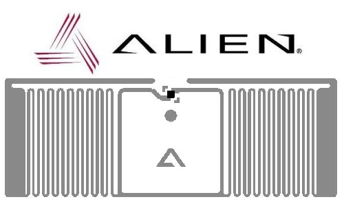 Glint Inlay RFID UHF - Alien ALN 9715