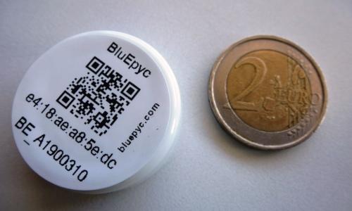 BluEpyc Bluetooth LE Disk Beacon